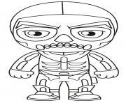 skull ranger dessin à colorier