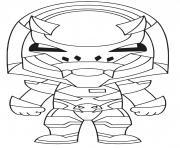 Coloriage guaco taco dessin