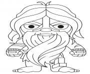 aquaman dessin à colorier