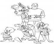 Coloriage Daffy Duck dessin