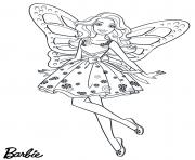 fee candy girl barbie dessin à colorier