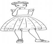 christie barbie princesse dessin à colorier