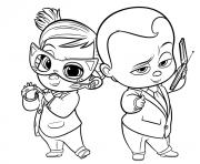Coloriage stacy de baby boss dessin