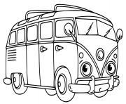 Coloriage autobus scolaire ms dessin