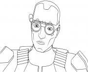 tech clone commando clone force 99 Star Wars Bad Batch dessin à colorier