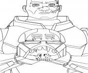 Star Wars Bad Batch disney plus dessin à colorier