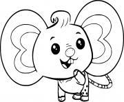 Coloriage chip et patate little momma pug et little poppa pug les parents de chip dessin