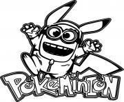 Pokeminion Jumping dessin à colorier