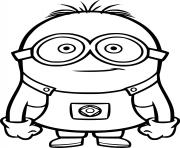 Little Minion dessin à colorier