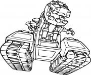Ty Rux from Dinotrux dessin à colorier