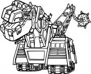 D Structs from Dinotrux dessin à colorier