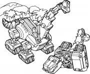 Coloriage Ton Ton Ankylodump Dinotrux dessin