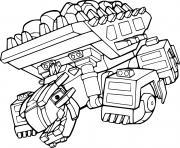 Ton Ton Ankylodump Dinotrux dessin à colorier