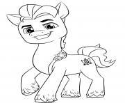 Coloriage bratz poney dessin
