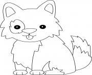 chien facile maternelle dessin à colorier