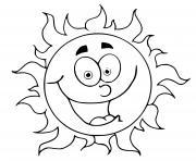 etoile soleil dessin à colorier