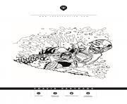 motocross suzuki redbull 199 travis pastrana dessin à colorier