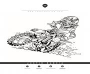motocross honda 51 justin barcia dessin à colorier