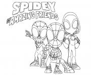 Coloriage spiderman 179 dessin