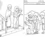 Wise Men Seek Matthew 2_1 15_02 dessin à colorier