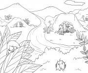 Saul Loses Kingship Samuel 13_6 14_01 dessin à colorier