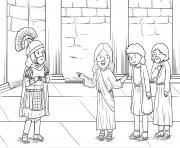 Centurions Faith Matthew 8_5 13_02 dessin à colorier