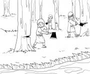Lost Axe Head Kings 6_1 7_02 dessin à colorier