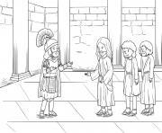 Centurions Faith Matthew 8_5 13_01 dessin à colorier