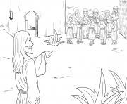 Ten Lepers Luke 17_11 19_02 dessin à colorier