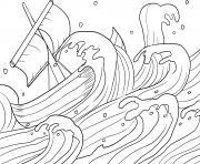 Jonah Runs Jonah 1_1 17_02 dessin à colorier