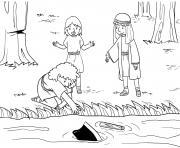 Lost Axe Head Kings 6_1 7_04 dessin à colorier