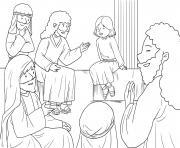 Jesus as Boy Luke 2_40 52_03 dessin à colorier