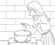 Widows Mite Mark 12_41 44_02 dessin à colorier