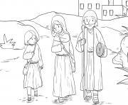 Jesus as Boy Luke 2_40 52_02 dessin à colorier