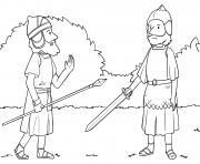 Joshua Meets Captain Joshua 5_12 6_5_01 dessin à colorier