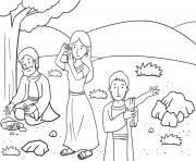 Back to Bethel Genesis 35_1 5_03 dessin à colorier