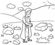 Back to Bethel Genesis 35_1 5_01 dessin à colorier