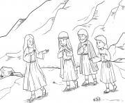 Transfiguration Matthew 17_1 9_04 dessin à colorier