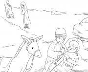 Good Samaritan Luke 10_25 37_03 dessin à colorier
