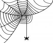 Little araignee Spinning dessin à colorier