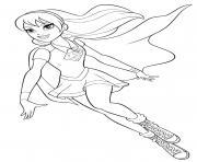 Super heroine Supergirl Super Hero Girls dessin à colorier