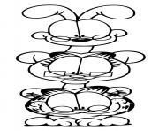 garfield odie nermal dessin à colorier