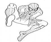 spiderman 33 coloriez dessin à colorier