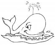 beluga dessin à colorier