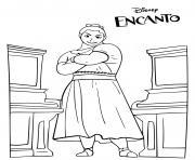 Mirabels Sister Encanto Disney dessin à colorier